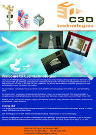 design definition in advertising manufacturing flyer design for c3d technologies by achanta