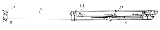 patent us6189712 crane with telescope jib google patents
