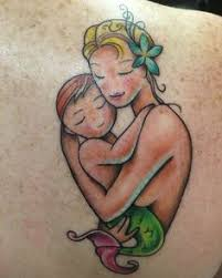 mother daughter symbols tattoos mother daughter tattoo design by
