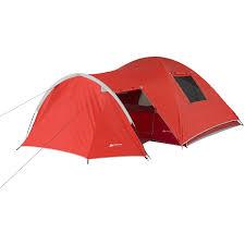 ozark trail 4 person dome tent with vestibule and full coverage