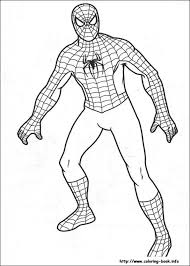 spiderman coloring pages printable free asoboo info