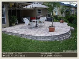 Raised Paver Patio Jacksonville Paver Photos 4 Jacksonville Paver Portfolio