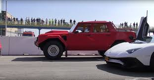 showing up in a lambo lm002 at a supercar convention is trolling