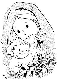 imagenes de virgen maria infantiles virgen maría ruega por nosotros imagenes virgen maria para colorear
