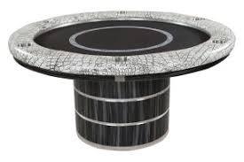 modern round poker tables pharaoh usa