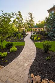 Tuscany Pavers San Diego by Paver Walkway And Planting Landscaping Pavers Pinterest