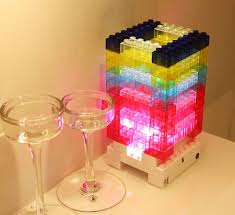 Decorative Led Lights For Homes Aliexpress Com Buy New Diy Led Night Light Touch Sensor Building
