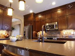 Upscale Kitchen Cabinets Kitchen Cabinets Stock Photos Royalty Free Kitchen Cabinets