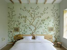 wallpaper for bedroom walls 50 floral wallpaper and mural ideas