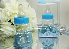 baby bottle favors diy designs themed footprints totally milk clear baby shower