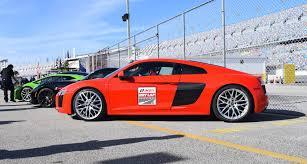 Audi R8 Red - 2017 audi r8 v10 dynamite red 1