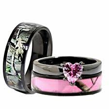his and wedding rings camo rings ebay