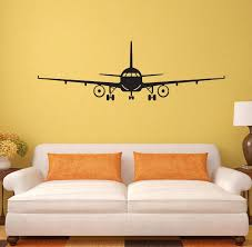 Kids Room Wall Decor Stickers by Personalized Decorative Wall Stickers Airplanes Boys Bedrooms