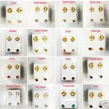 ear piercing studs brand new ear piercing studs earrings stud sterile stud gold