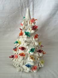 vintage ceramic christmas trees collection on ebay