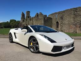 Lamborghini Gallardo Coupe - used pearl white lamborghini gallardo for sale swansea