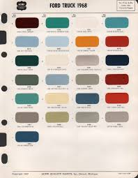 mustang paint colors 2017 numberedtype