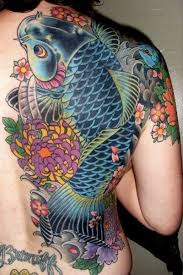 38 best blue koi fish tattoo designs images on pinterest