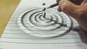 Drawing by How To Draw Water Drop With Charcoal Pencil Trick Art On Line