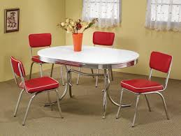 Great Kitchen Tables by Dinette Set Round Vintage 1950u0027s Guildform Formica Top Draw