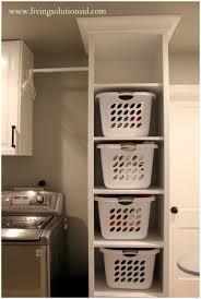 Laundry Room Wall Storage by Laundry Storage Walmart Put Supplies In Baskets Storage Laundry
