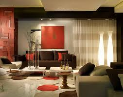 Brown Red And Orange Home Decor Compliment Living Room Red Brown And Hampedia