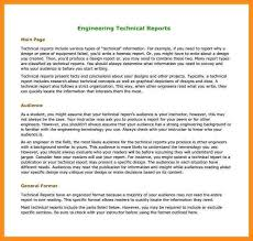 template for technical report 3 simple report format exle parts of resume