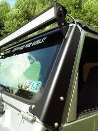 Jeep Led Lights Jeep Tj Light Bar Mount 50 Inch 96 06 Led Lights Led Light Bar