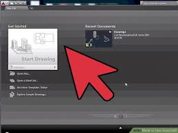 autocad tutorial getting started how to use autocad with pictures wikihow
