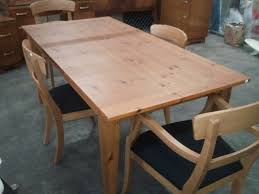 ducal pine dining table and chairs pine dining room chairs style