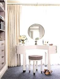 bedroom chic small wooden storage at vanity mirror with stuning