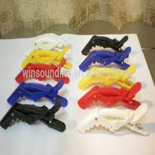 crocodile hair plastic alligator hair clip crocodile clip salon hair clip