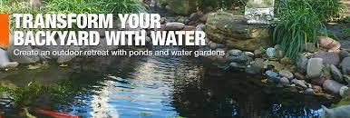 Backyard Fish Pond Kits Ponds U0026 Water Gardens