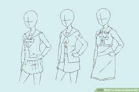 4 ways to draw an anime wikihow