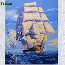 online get cheap vintage sailboat pictures aliexpress com
