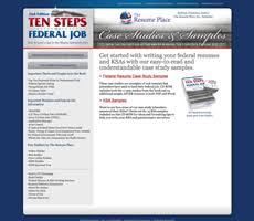 Federal Job Resumes by Federal Resume Database