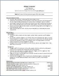 Resume Career Focus Examples by Functional Resume Examples Functional Resume Template Example