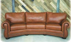 curved couch casablanca curved sofa creative leather