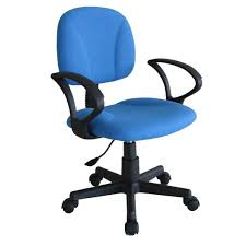 elegant blue office chair 99 with additional small home decoration