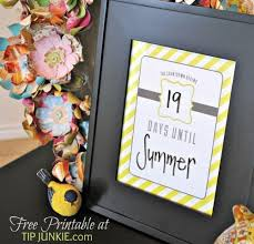 candy stripe countdown calendar instant download by tip junkie