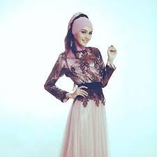 model baju kebaya muslim berbagai model kebaya muslim nan elegan muslimarket