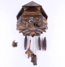 Antique Cuckoo Clock Vintage German Black Forest Cuckoo Clock Ebth