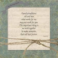 family thanksgiving quote say this write traditions old and new