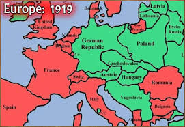 post ww1 map europe after ww1 map thefreebiedepot