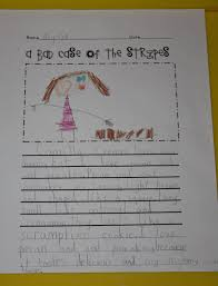 i am thankful for writing paper a learning journey a bad case of stripes writing the second writing assignment we completed was found at step into second grade with mrs lemons after reading the book i drew a large t chart on our white