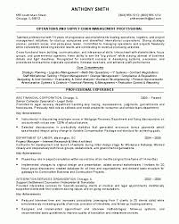 Procurement Resume Examples by Sample Resume Smlf Middot Resume Template Supply Chain Senior
