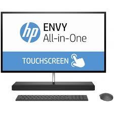 ordinateur de bureau tout en un hp pc de bureau tout en un hp envy 27 b101nk tactile i7 7è gén 8 go