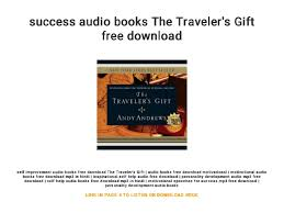 The Travelers Gift images Success audio books the traveler 39 s gift free download jpg