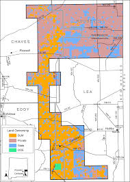 Blm Maps New Mexico by Gis Habitat Analysis For Lesser Prairie Chickens In Southeastern