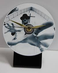 kid rock church picture cd desk clock with black acrylic base